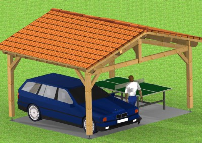 GARAGE 2 PENTES CITY