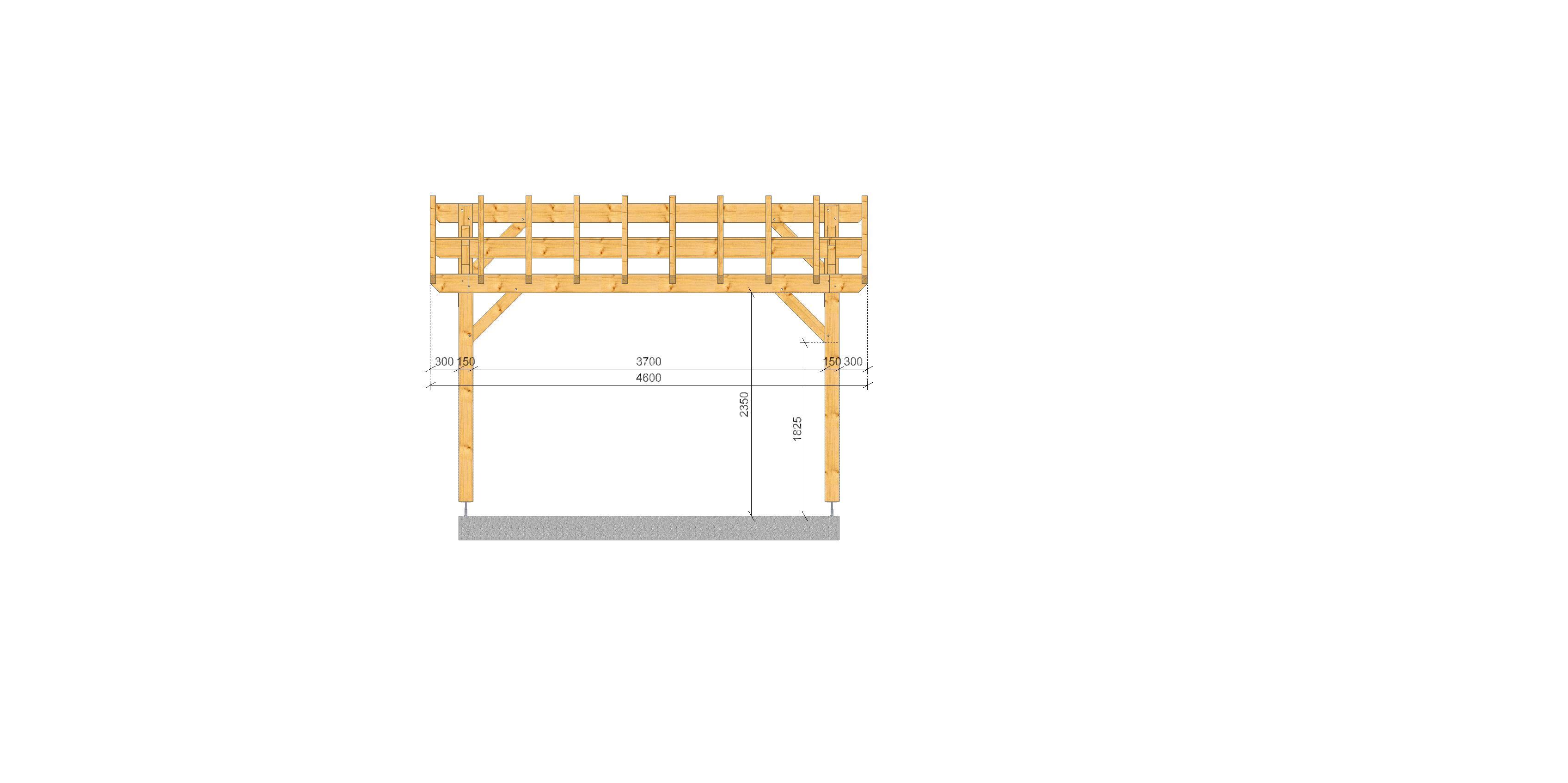 Garage 2 pentes City SOCAB City long pan